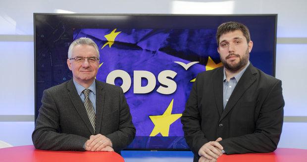 Lídr ODS: Euro nechci, Babiš zneužil náhrady z EU a czexit by nám uškodil, říká Zahradil