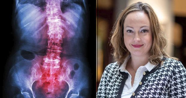 Nina (32) má Bechtěrevovu nemoc a tvrdí: Horší než porod, u něj bolesti skončí