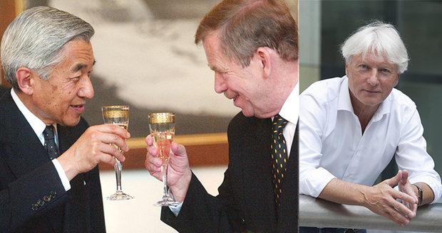 Havel japonského císaře hostil v zahradě. Špaček zavzpomínal na Akihita v Česku