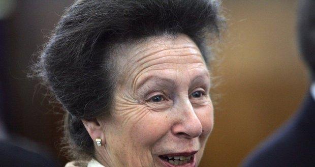 Královská princezna Anna je jedinou dcerou královny Alžběty II.