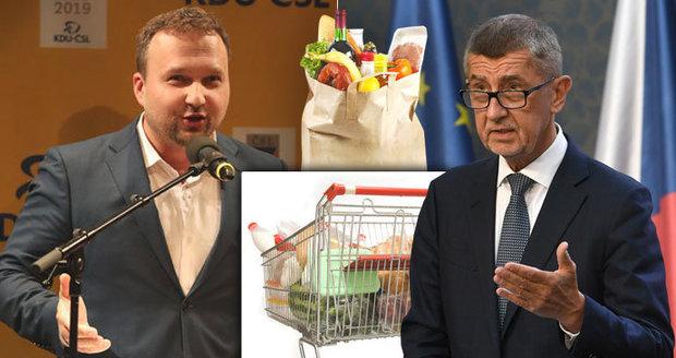 """Babiš to """"koupil"""" od Jurečky za dvojí kvalitu potravin: Do voleb ji neřešil"""