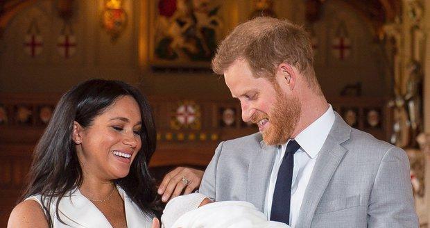 Princ Harry a vévodkyně Meghan představili syna.