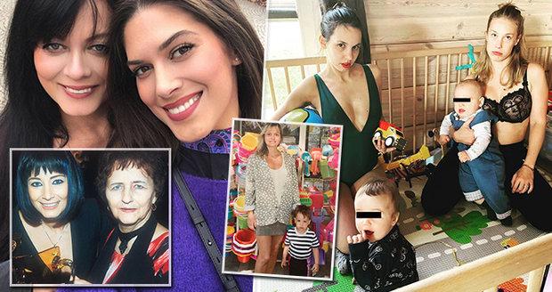 Jak oslavily Den matek naše celebrity?