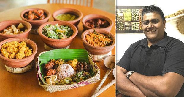 Čím pálivější, tím lepší: Wasantha Indika Demuni (40) servíruje Pražanům domácí srílanské bašty