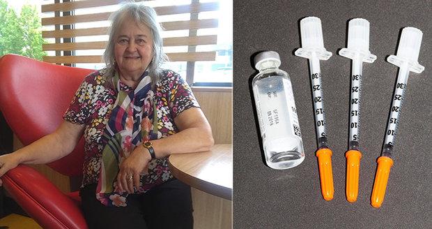 Paní Evě při hypoglykemii pomohla nová generace inzulinů.