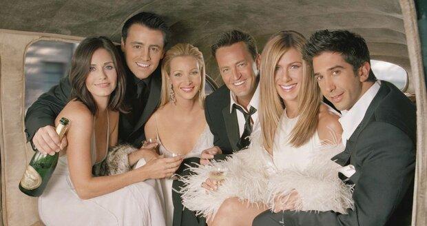 Seriál přátelé slaví neuvěřitelných 25 let od odvysílání první epizody