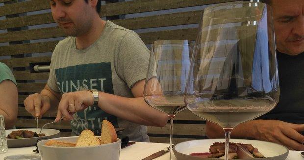 Kreace šéfkuchaře z vinice