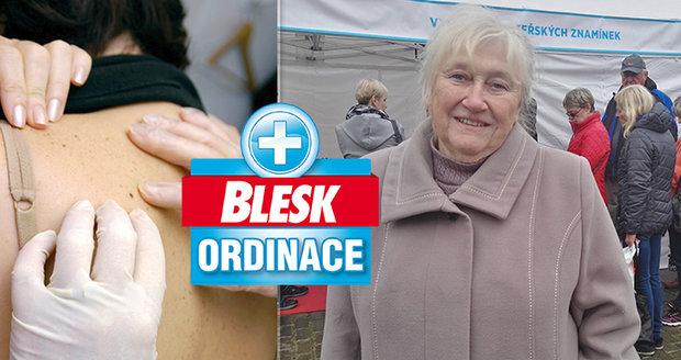 Po smrti manžela na rakovinu seniorku (74) sevřel strach! Byla tam krev, říká... Lékaři ji uklidnili!