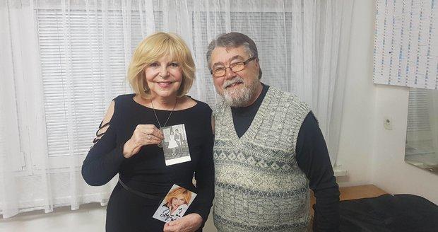 2019: Vamberk Hana Zagorová a Jiří Klekar po 58 letech.