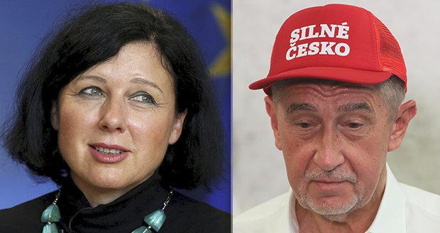 Babiš chce seškrtat miliardy za české předsednictví EU. A Jourová ...