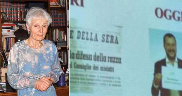 Studenti přirovnali ministra k Mussolinimu. Jejich učitelku kvůli videu suspendovali