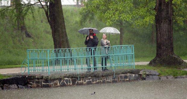 Deštivé jarní počasí v Česku