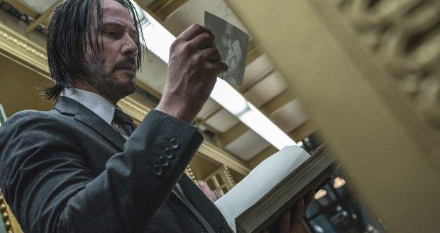 Záběry ze snímku John Wick 3.