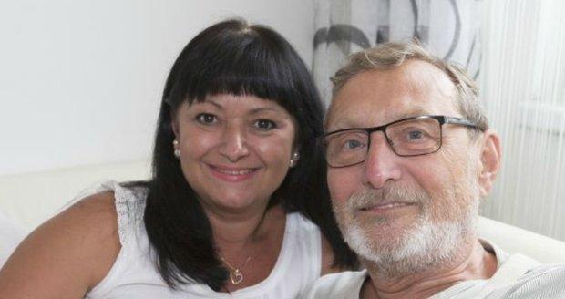 Ladislav Frej s partnerkou Gabrielou
