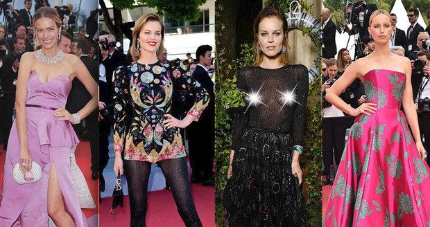 Cannes vládnou Češky! Němcová, Herzigová a Kurková udávají módní trendy