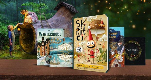 Čtivý balíček z Knihozemě potěší na Den dětí víc, než dopis z Bradavic
