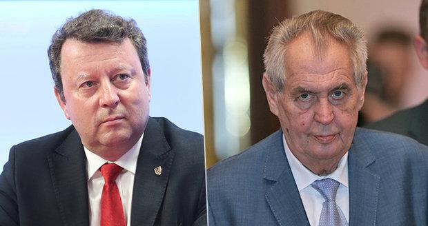 Zeman nepřijal demisi Staňka, Babiš chce jeho odvolání, Šmarda se mu ale nezdá