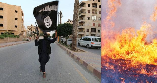 """""""Oheň je jen začátek."""" Džihádisté mají nové metody zastrašování, požáry pustoší 11 provincií"""