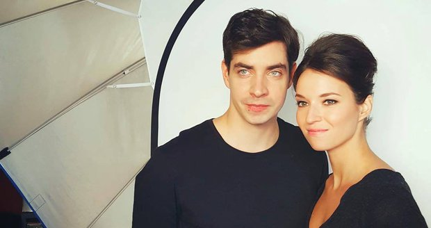 Ivan Lupták s Berenikou Kohoutovou