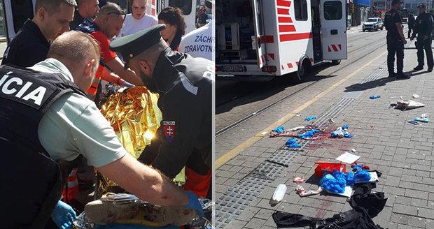 Krvavé drama v Bratislavě: Postřelili dívku (15): Muž páchal harakiri!