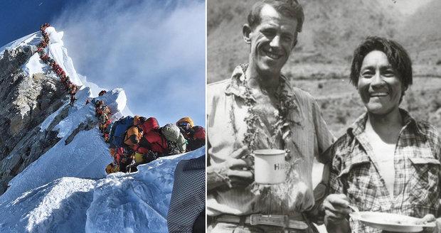 Davy lidí ucpaly Mount Everest: Nejvyšší hora světa stále roste!
