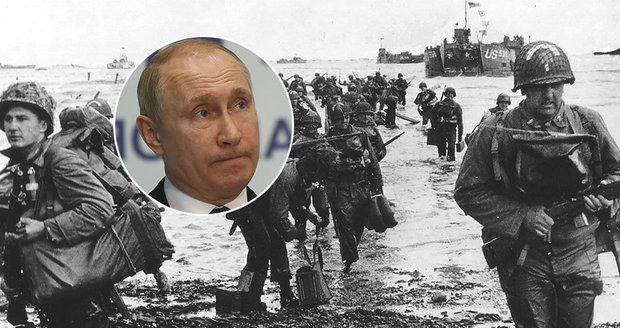 "Putin ""ostrouhal"". Francouzi ho nepozvali na oslavy Dne D v Normandii"