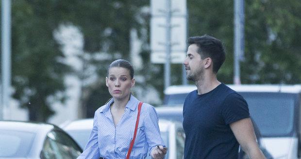 Michaela Gemrotová má blízko ke kolegovi Petru Ryšavému