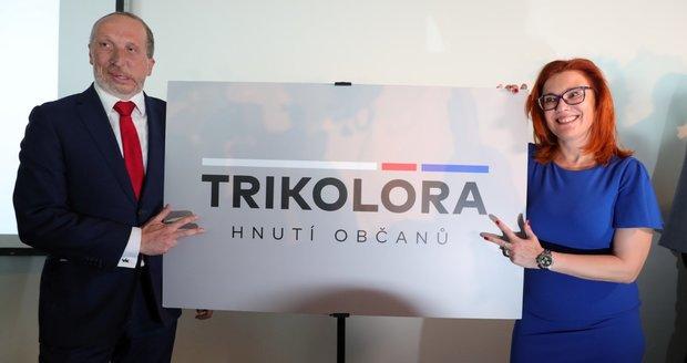 Klaus ml. promluvil o handicapech a představil Trikolóru. Pomohl mu herec Vašut