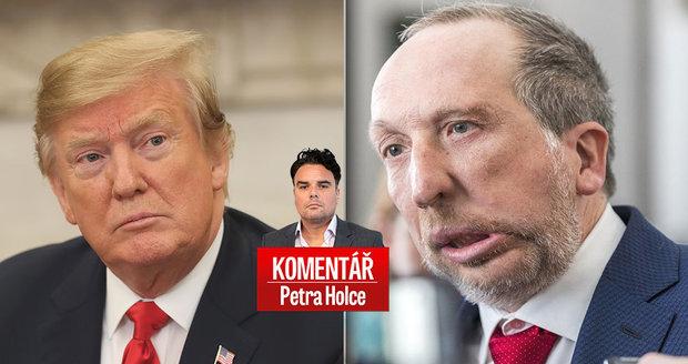 Komentář: Klaus ml. vykradl Trumpa a představil Trikolóru. Bude to bolet nejen ODS