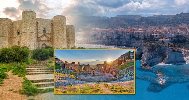 Lákavý jih Itálie