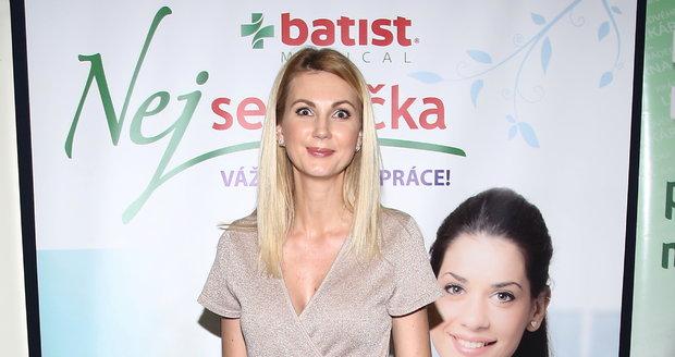 Sandra Parmová na Nej sestřičce