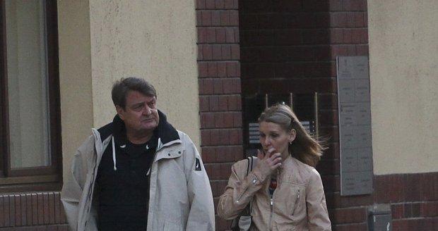 Ladislav Štaidl a expartnerka Míša