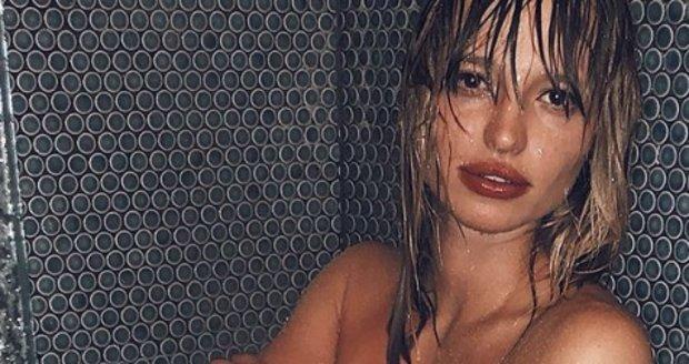 Modelka Tereza Kačerová