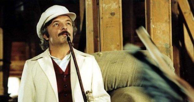 Ladislav Smoljak ve filmu Na samotě u lesa.