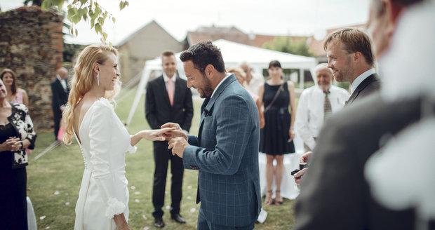 Loňská svatba Michala Janotky
