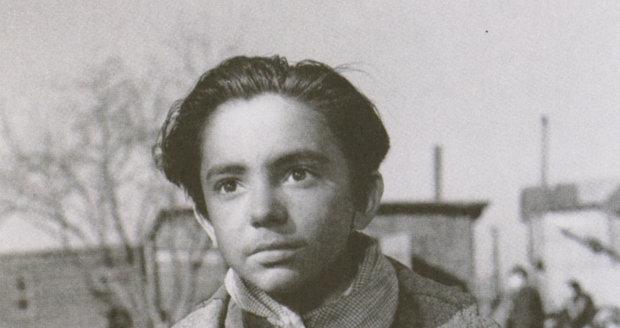Dušan Klein jako dítě