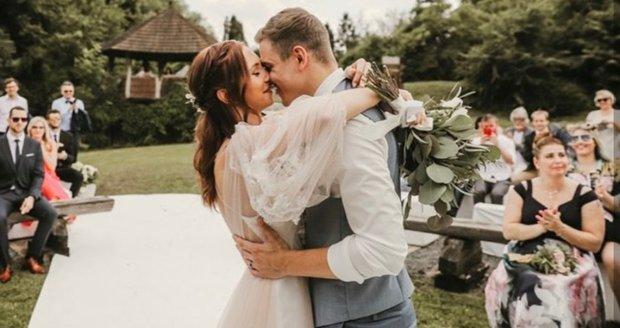 Svatba Davida Gránského s Nikolou byla nádherná