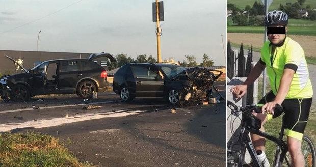 Opilý podnikatel v porsche způsobil nehodu: Vojta se synem zemřeli!