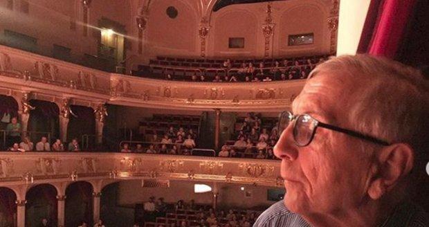 Jiří Menzel ve vinohradském divadle