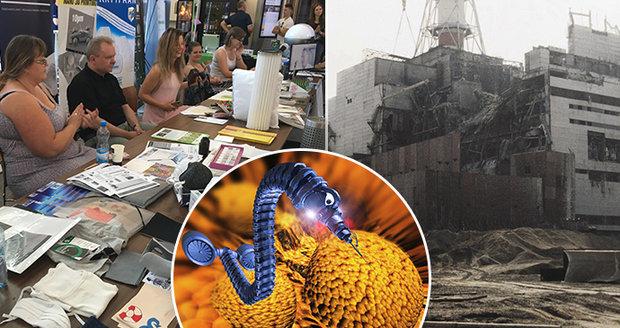 V Praze vznikají nanoroboti, kteří by vyčistili Černobyl. Další technologie jsou dostupnější, než se zdá