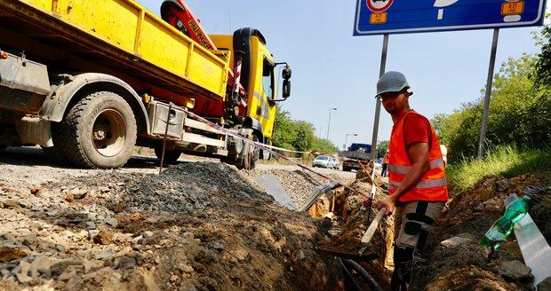 Začíná stavba obchvatu Jesenice u Prahy. Jeho vznik podpoří dokončení dálnice D3