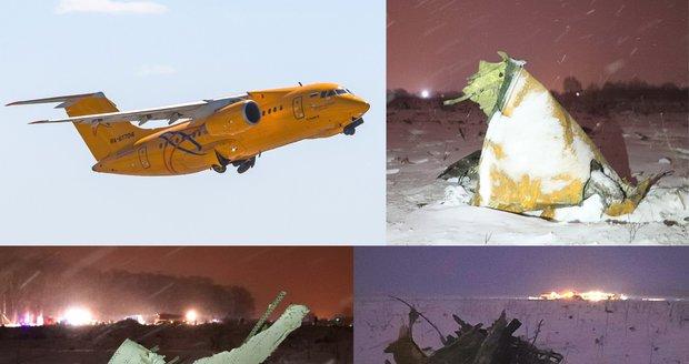 Po nehodě letadla u Moskvy zemřelo 71 lidí. Vyšetřování: Šlendrián posádky