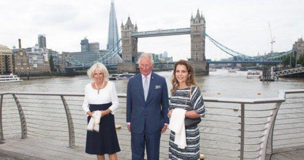 Princezna Hajá a princ Charles