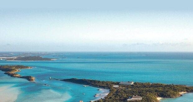 Little Pipe Cay na Bahamách v celé své kráse!