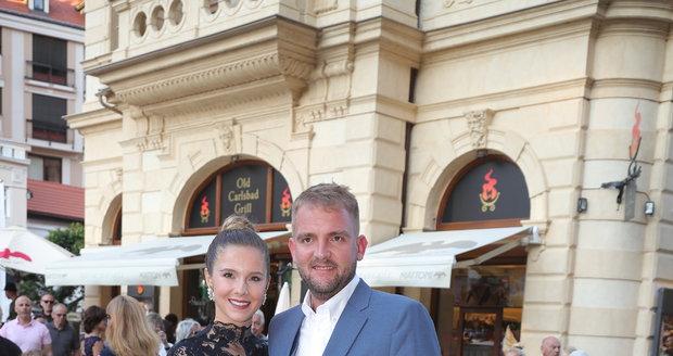 Libor Bouček s přítelkyní