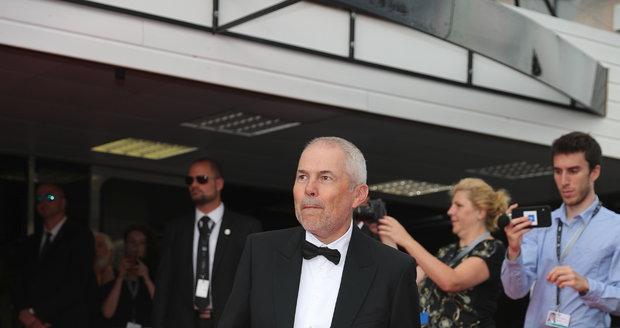 Marek Eben na závěrečném ceremoniálu KVIFF 2019.