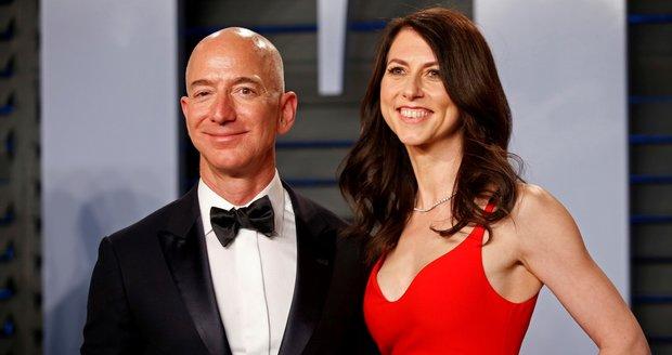 Nejbohatší muž světa je volný. Exmanželka Bezose vydělala na rozvodu obří balík