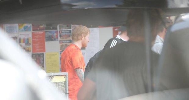 Ed Sheeran v Praze