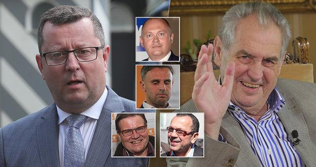 Staněk šije do vedení ČSSD. Co tomu říkají prezidentovi muži v sociální demokracii?