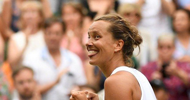 Barbora Strýcová, semifinalistka Wimbledonu 2019